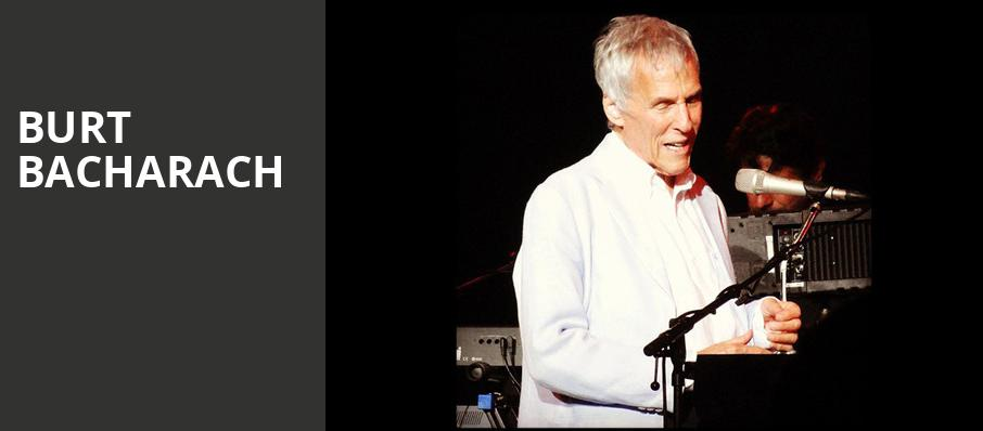 Burt Bacharach, Royce Hall, Los Angeles