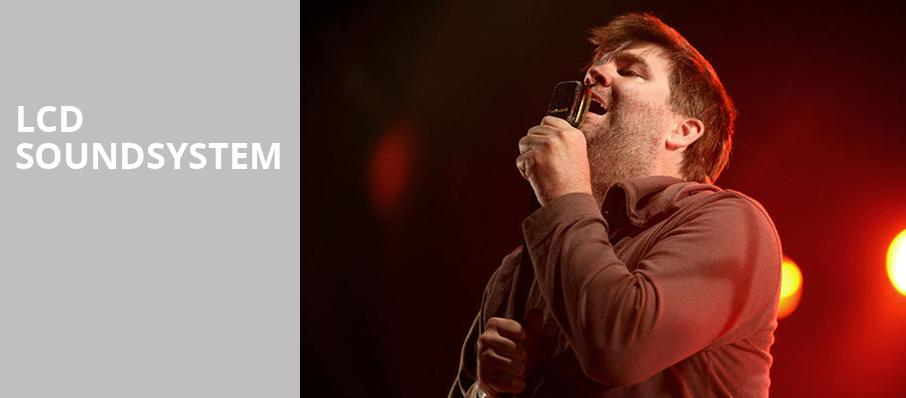 LCD Soundsystem, Hollywood Palladium, Los Angeles