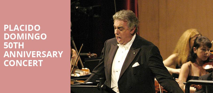 Placido Domingo 50th Anniversary Concert, Dorothy Chandler Pavilion, Los Angeles