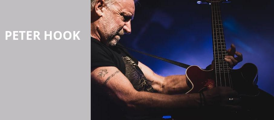 Peter Hook, The Wiltern, Los Angeles