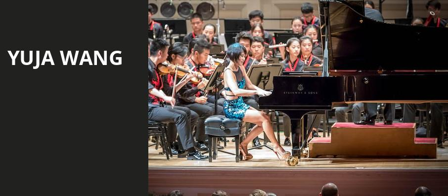 Yuja Wang, Walt Disney Concert Hall, Los Angeles