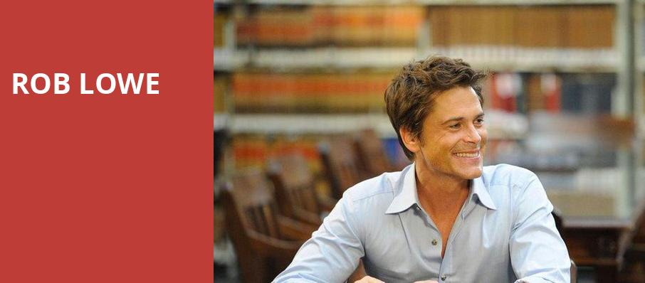 Rob Lowe, Fred Kavli Theatre, Los Angeles