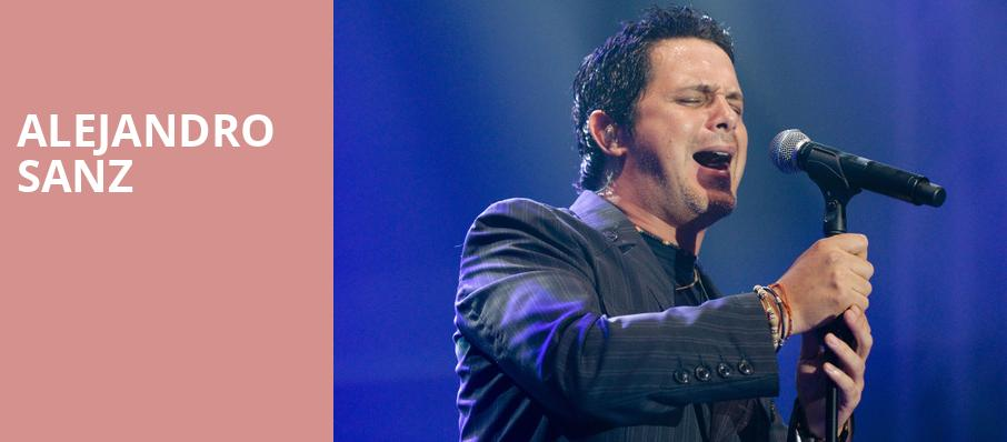 Alejandro Sanz, Microsoft Theater, Los Angeles