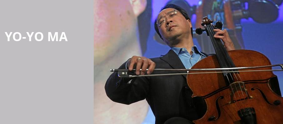 Yo Yo Ma, Walt Disney Concert Hall, Los Angeles