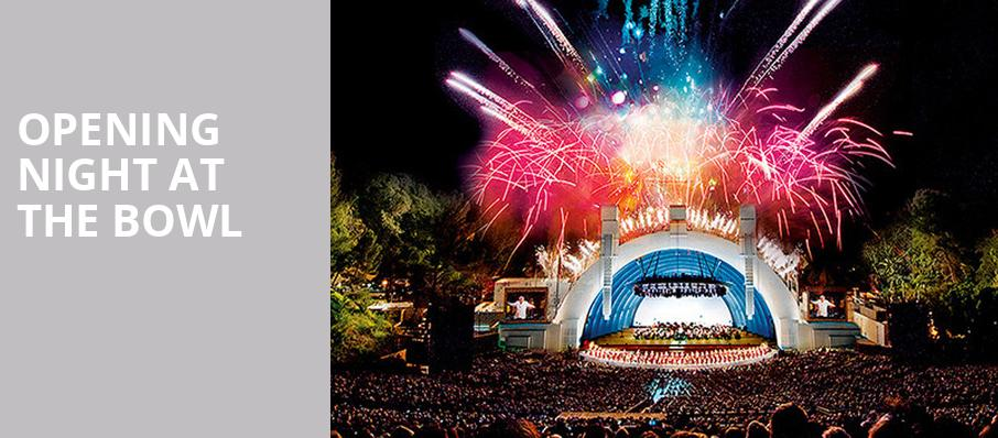 Opening Night at the Bowl, Hollywood Bowl, Los Angeles
