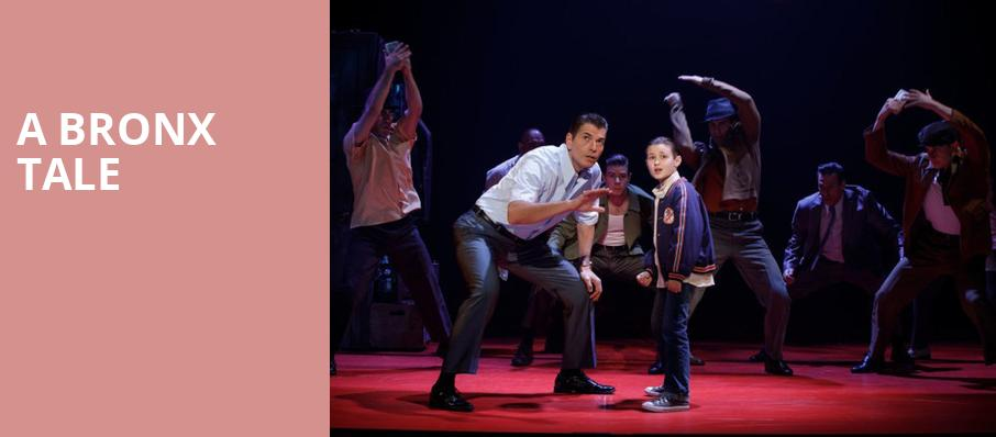 A Bronx Tale, Pantages Theater Hollywood, Los Angeles