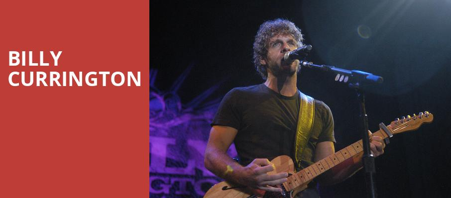 Billy Currington, House of Blues, Los Angeles
