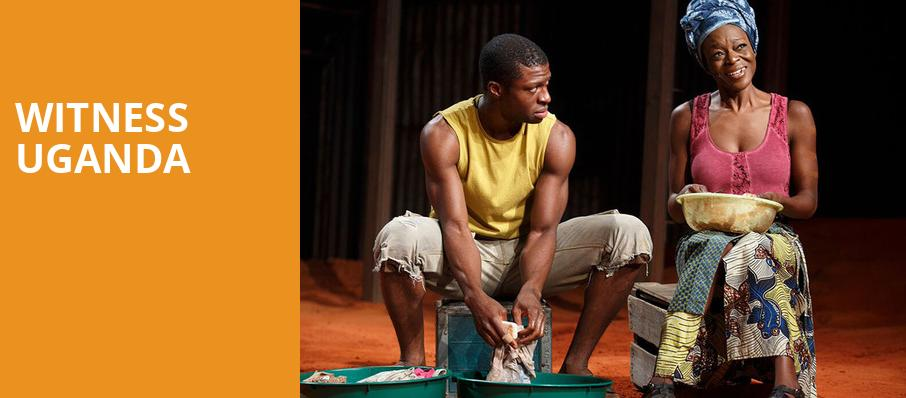 Witness Uganda, Wallis Annenberg Center for the Performing Arts, Los Angeles