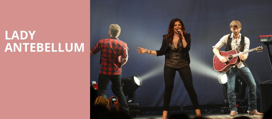 Lady Antebellum, Hollywood Bowl, Los Angeles