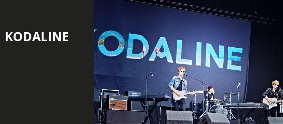 Kodaline, Belasco Theater, Los Angeles