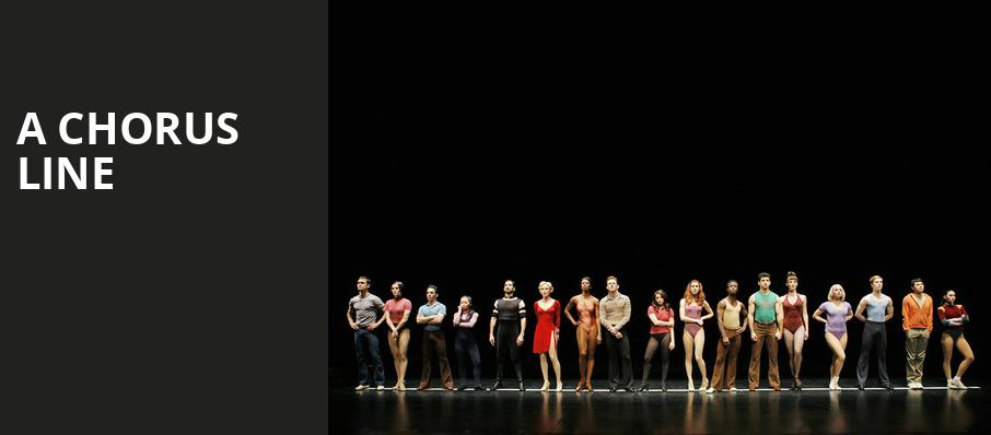 A Chorus Line, Fox Performing Arts Center, Los Angeles