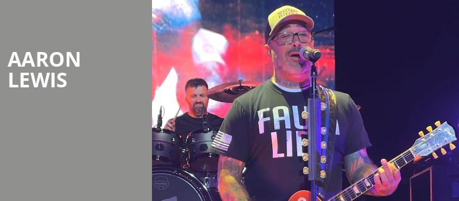 Aaron Lewis, Pechanga Entertainment Center, Los Angeles