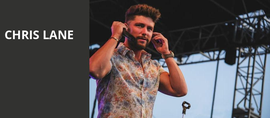 Chris Lane, Belasco Theater, Los Angeles