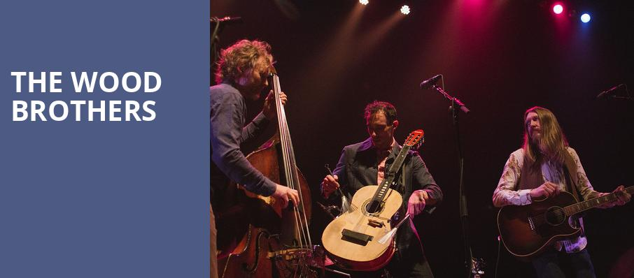 The Wood Brothers, The Fonda Theatre, Los Angeles