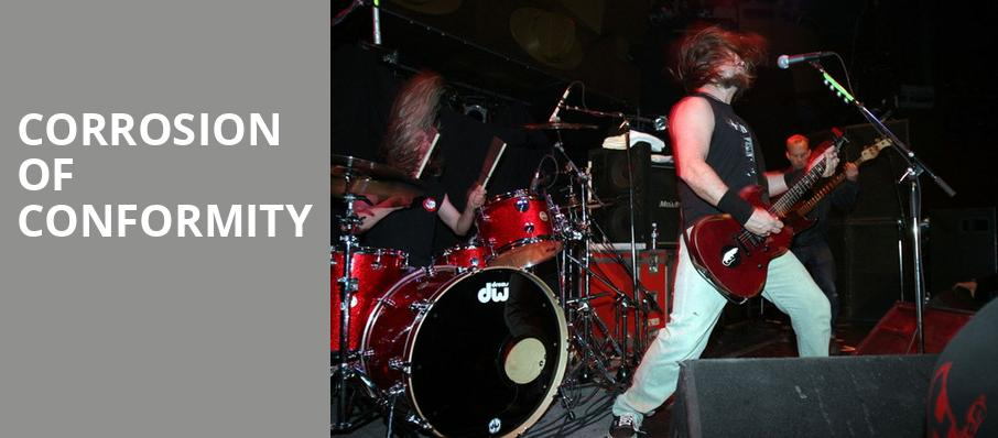 Corrosion of Conformity, Teragram Ballroom, Los Angeles