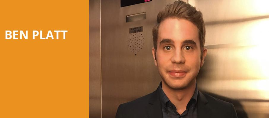Ben Platt, The Grammy Museum, Los Angeles