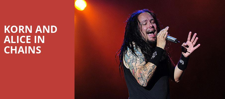 Korn and Alice in Chains, FivePoint Amphitheatre, Los Angeles