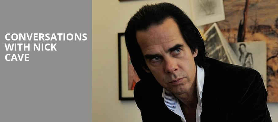 Conversations with Nick Cave, Walt Disney Concert Hall, Los Angeles