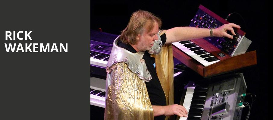 Rick Wakeman, The Theatre at Ace, Los Angeles
