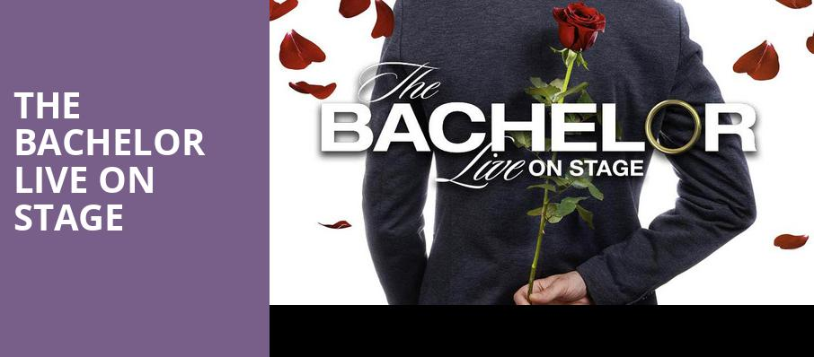 The Bachelor Live On Stage, The Theatre at Ace, Los Angeles