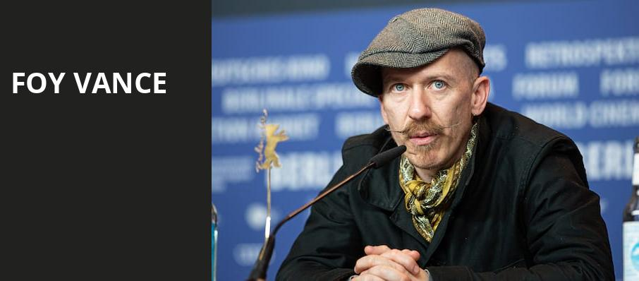 Foy Vance, Palace Theatre Los Angeles, Los Angeles