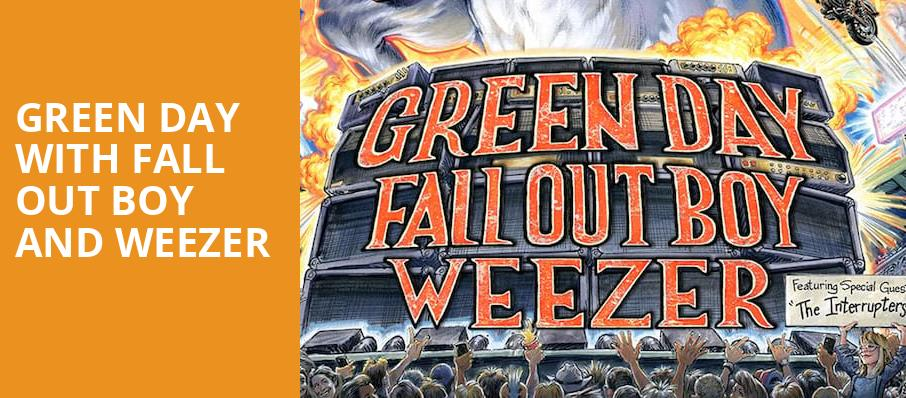 Green Day with Fall Out Boy and Weezer, Dodger Stadium, Los Angeles