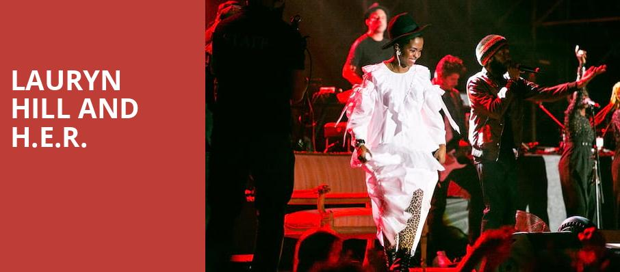 Lauryn Hill and HER, Hollywood Bowl, Los Angeles