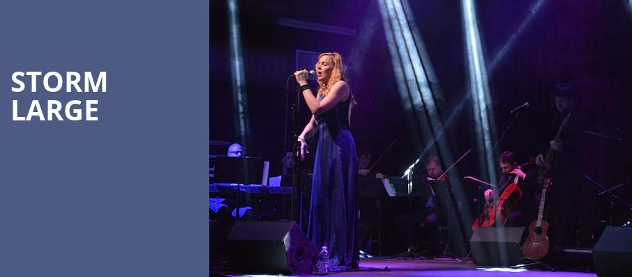 Storm Large, Irvine Barclay Theatre, Los Angeles