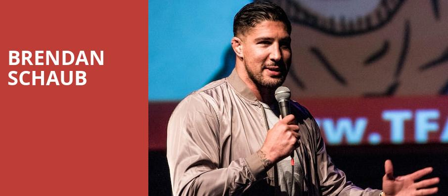 Brendan Schaub, Ontario Improv Comedy Club, Los Angeles