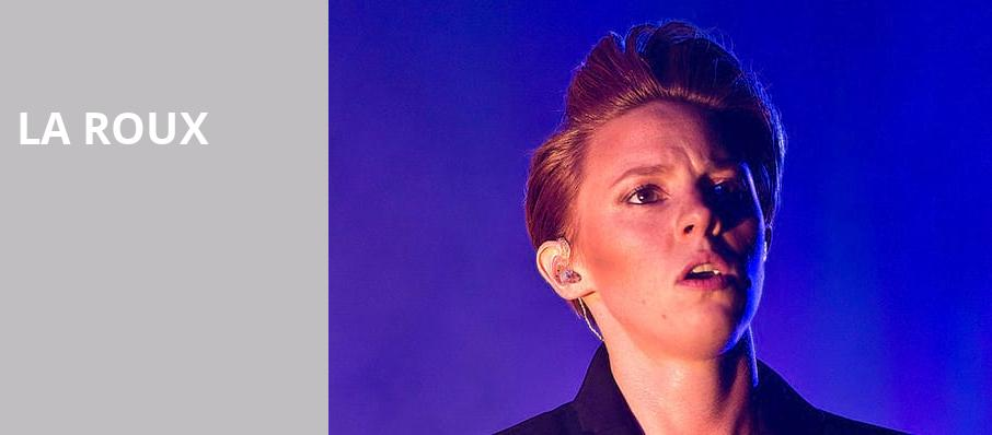 La Roux, The Fonda Theatre, Los Angeles