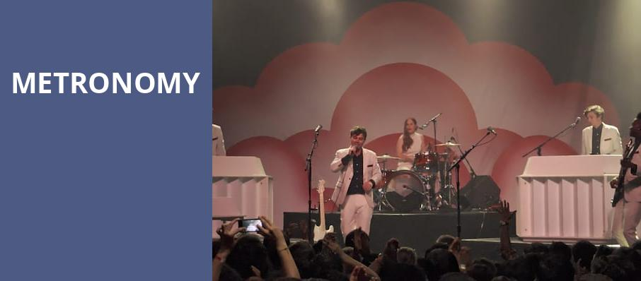 Metronomy, The Fonda Theatre, Los Angeles