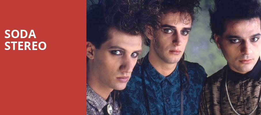 Soda Stereo, The Forum, Los Angeles