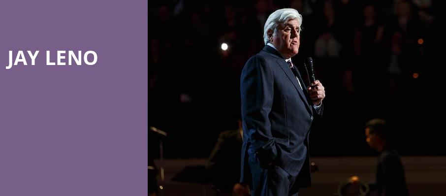Jay Leno, Fred Kavli Theatre, Los Angeles