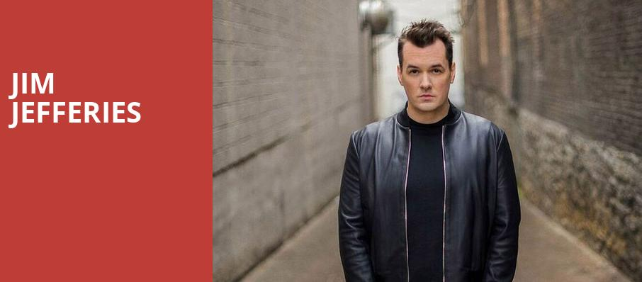 Jim Jefferies, Fred Kavli Theatre, Los Angeles