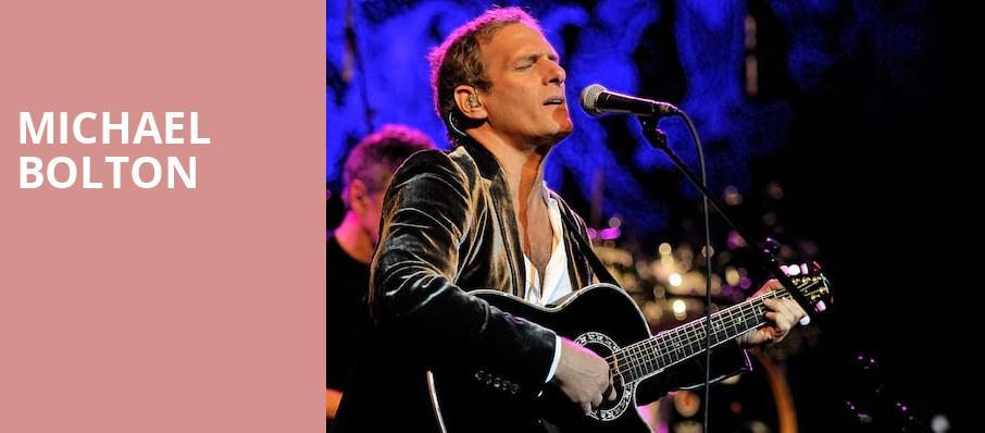 Michael Bolton, The Show, Los Angeles
