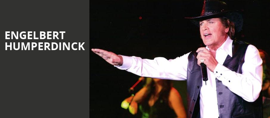 Engelbert Humperdinck, La Mirada Theatre, Los Angeles