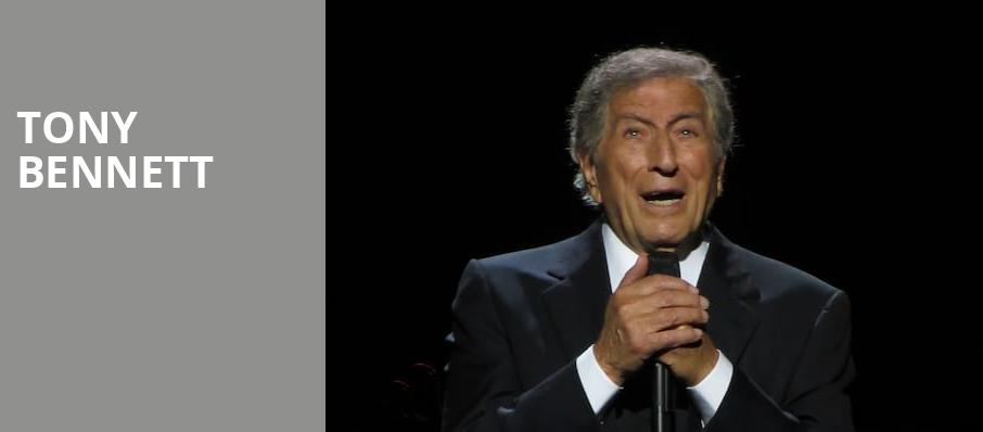 Tony Bennett, Long Beach Terrace Theater, Los Angeles