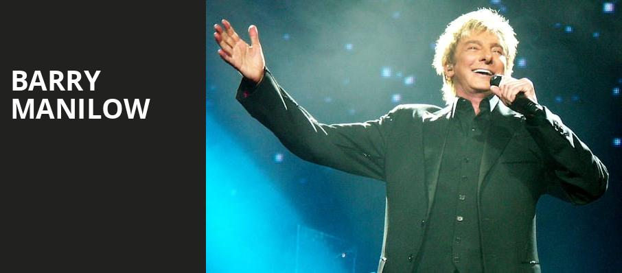 Barry Manilow, The Forum, Los Angeles