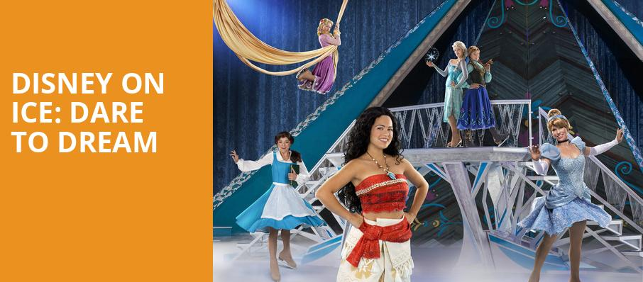 Disney On Ice Dare To Dream, Long Beach Arena, Los Angeles