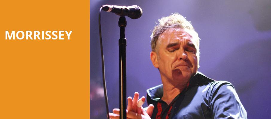 Morrissey, Hollywood Bowl, Los Angeles