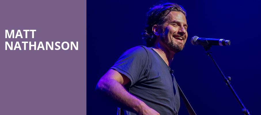 Matt Nathanson, Galaxy Theater, Los Angeles