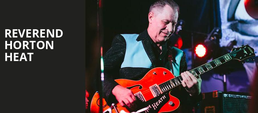 Reverend Horton Heat, The Observatory, Los Angeles