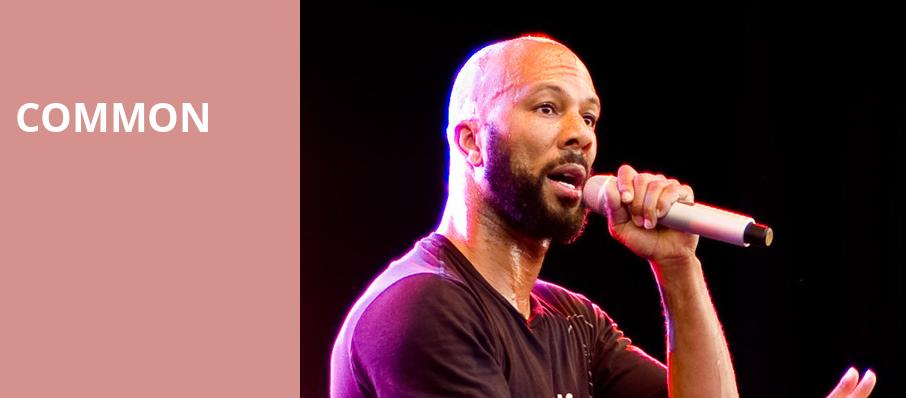 Common, The Grammy Museum, Los Angeles