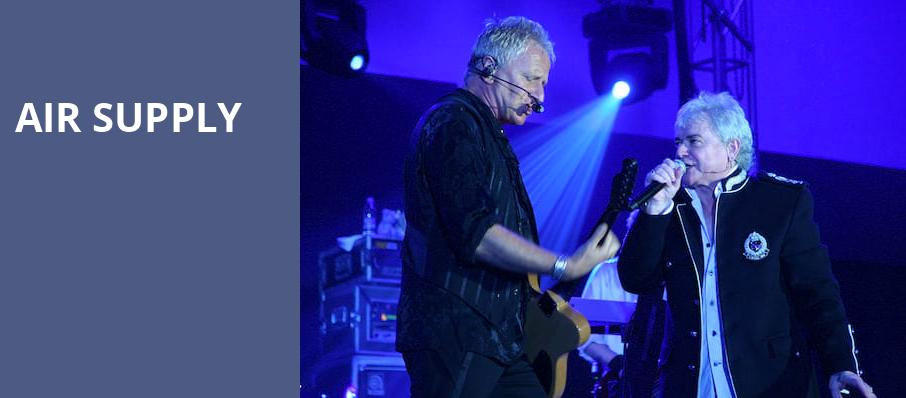 Air Supply, The Show, Los Angeles