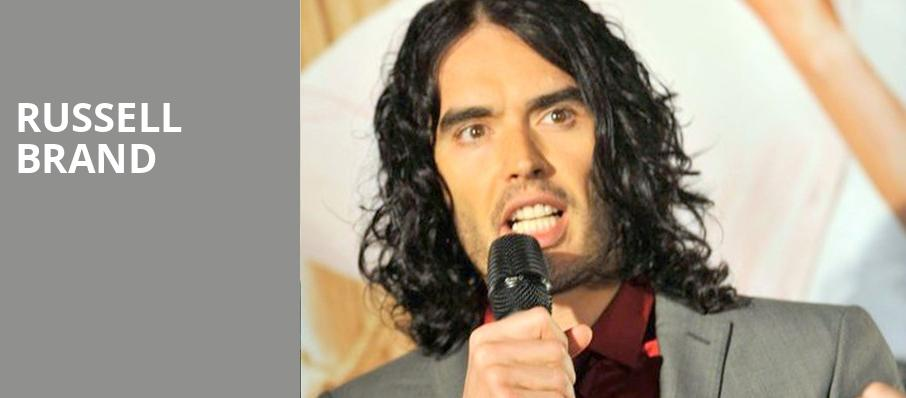 Russell Brand, The Theatre at Ace, Los Angeles