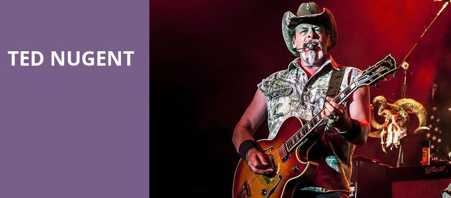 Ted Nugent, Canyon Club, Los Angeles