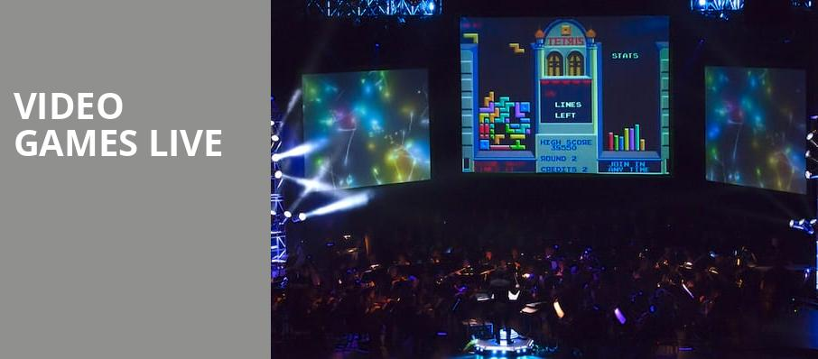Video Games Live, Pantages Theater Hollywood, Los Angeles