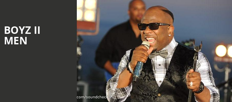 Boyz II Men, The Show, Los Angeles