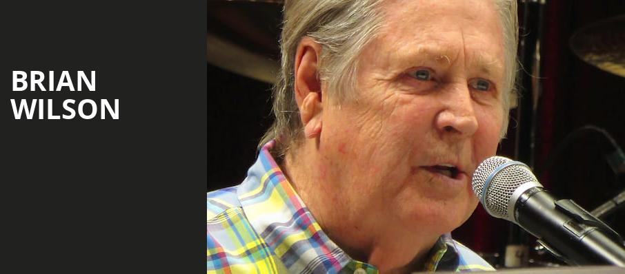 Brian Wilson, Pantages Theater Hollywood, Los Angeles