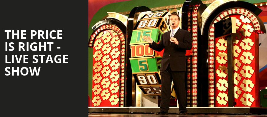 The Price Is Right Live Stage Show, Pechanga Entertainment Center, Los Angeles